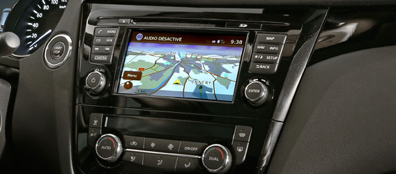 Nawigacja Nissan Connect LCN2